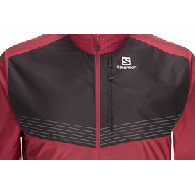 Salomon Fast Wing Aero Jacket Herren biking red